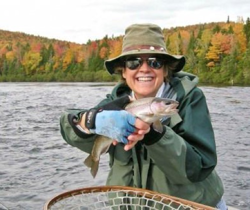Androscoggin River rainbow trout, Errol, NH