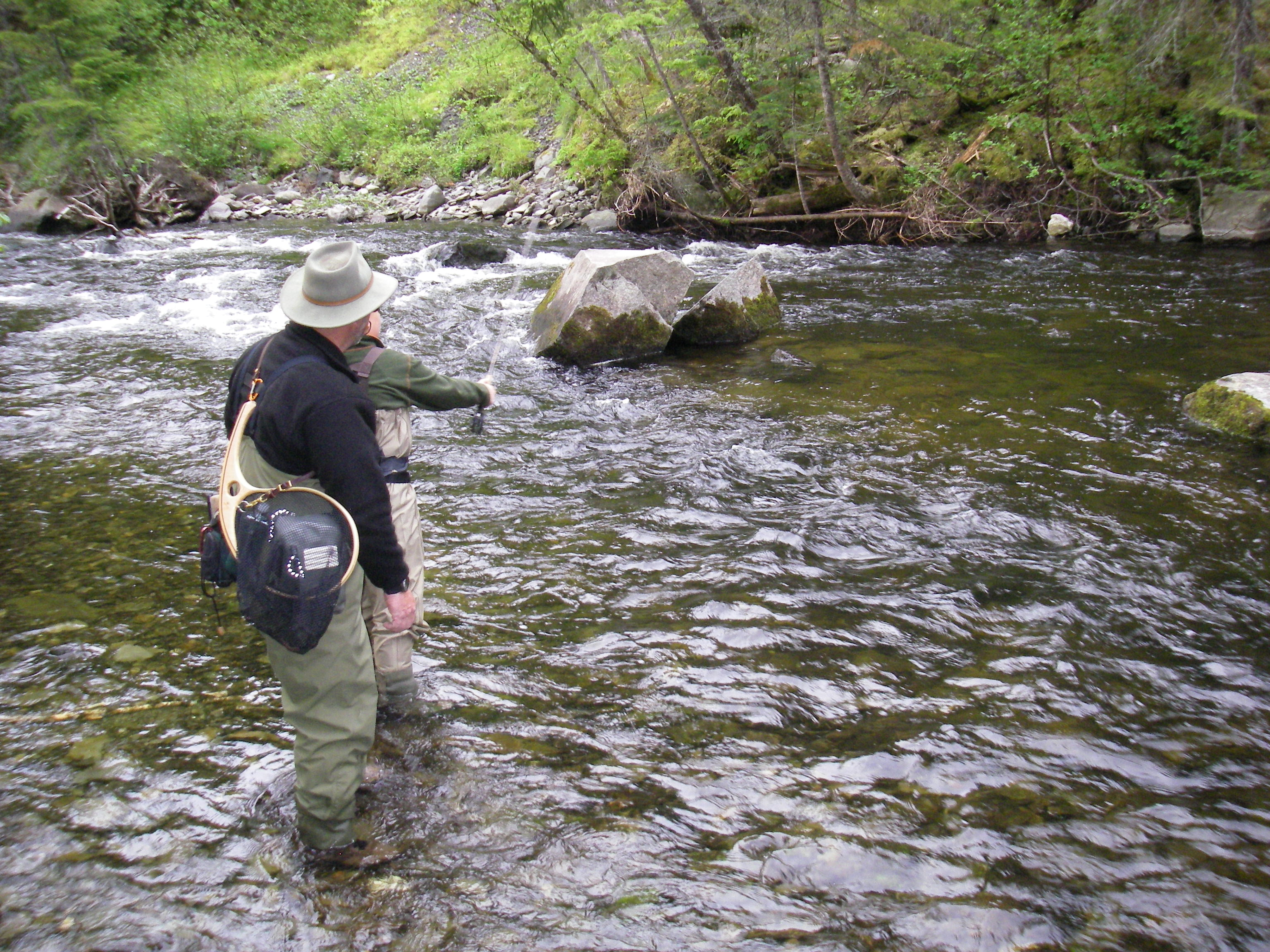 Fishing And Hunting Guide Services At Tall Timber Lodge In
