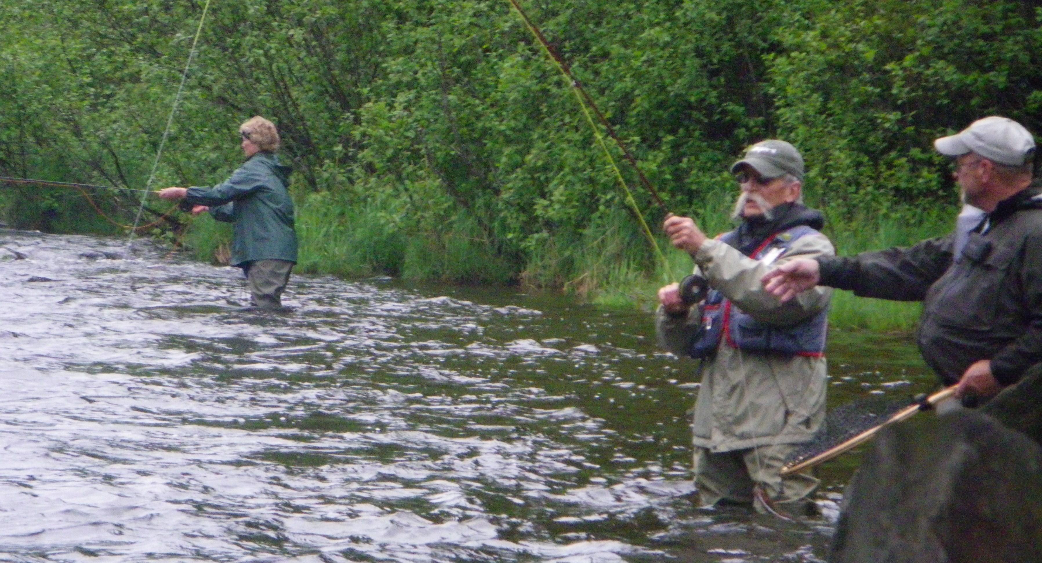 Ttl fly fishing school 2012 for The fishing school