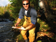 Trophy Stretch brook trout