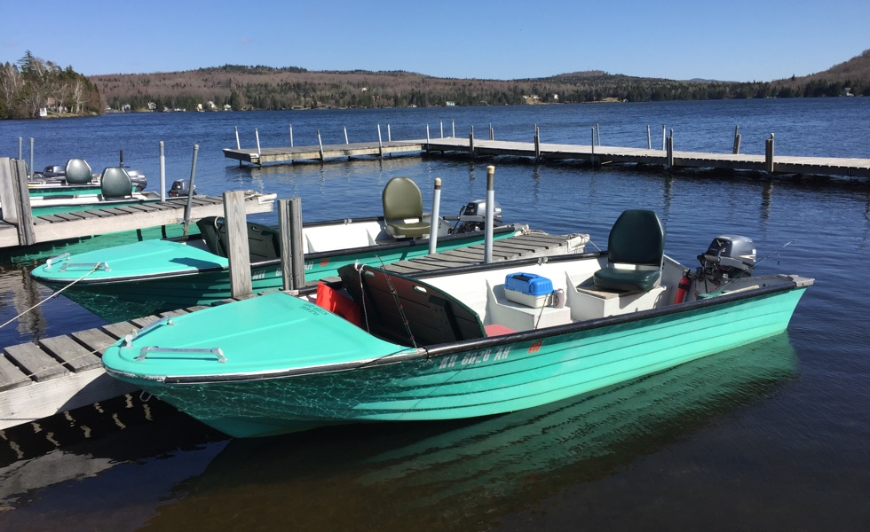 Tall Timber Back Lake Boat Rentals in Pittsburg, NH